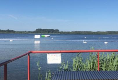 Strandbad Werder Wassertrampolin