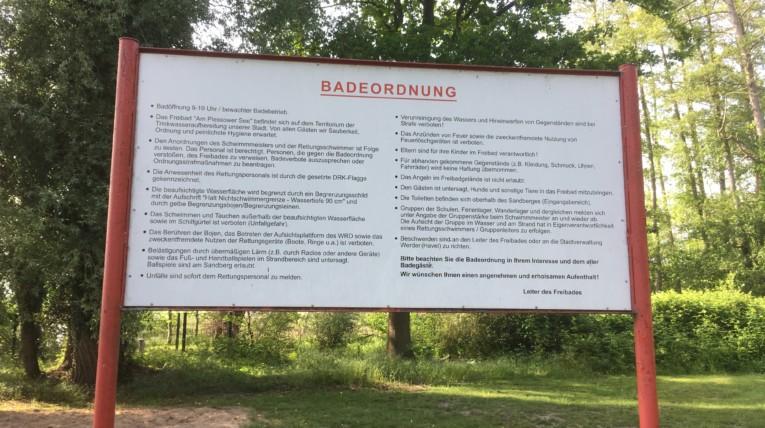 Strandbad Werder Bademeister