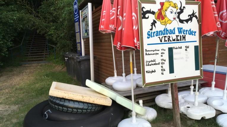Strandbad Werder Schwimmreifenverleih