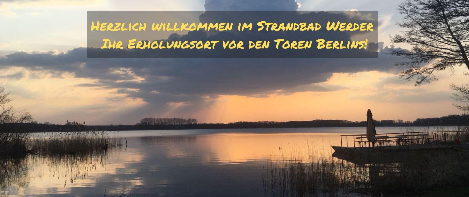 Strandbad Werder Headerbild